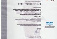 2010 SGS Certificato 9001
